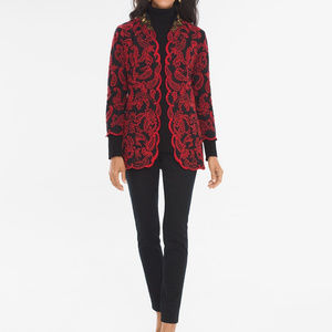 Chico's Collectibles Embroidered Jacket NWT $179